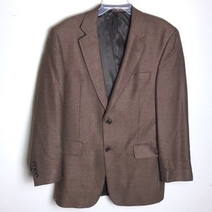 Jos. A. Bank Brown Blazer Sports Coat Suit